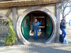 Yeah, I'm in a hobbit hole :)