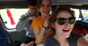 Road tripping shenanigans