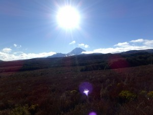 The first view of Mt. Doom