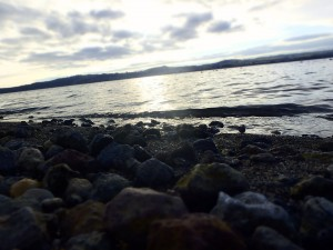 Walking around Lake Taupo